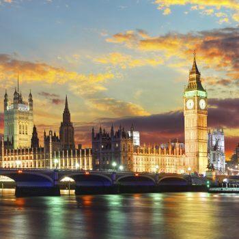 Big Ben at Night - Designer Splashbacks