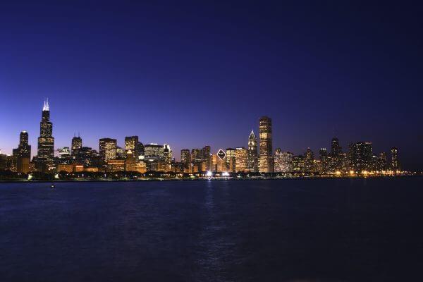 Chicago Skyline – Designer Splashback