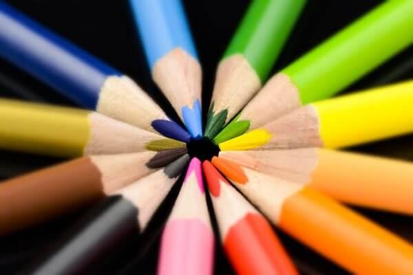 Colourful Pencils – Designer Splashback