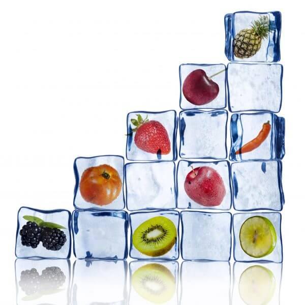 Fruit Ice Cubes – Designer Splashback