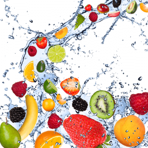 Fruit Splash - Designer Splashback