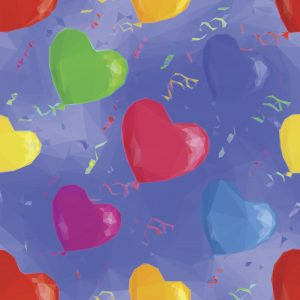 Heart Ballons – Designer Splashback