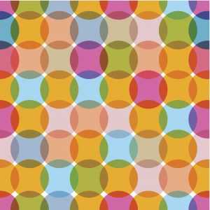 Interlocking Circles – Designer Splashback