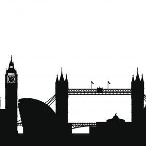 London City Scape - Designer Splashback