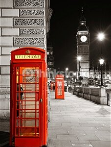 London Street at Night – Designer Splashback