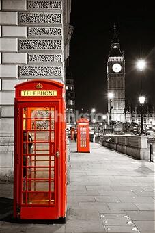 London Street at Night – Designer Splashback