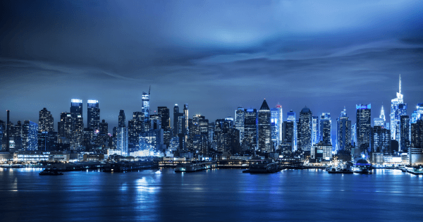 Manhattan Skyline - Designer Splashback