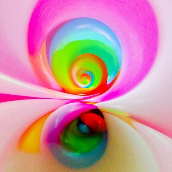 Multicoloured Abstract – Designer Splashback