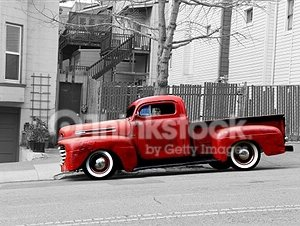 old Pick Up Truck – Designer Splashback