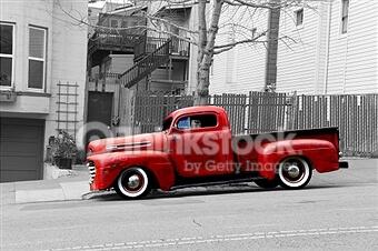 old Pick Up Truck – Designer Splashback