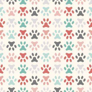 Paw Prints – Designer Splashback