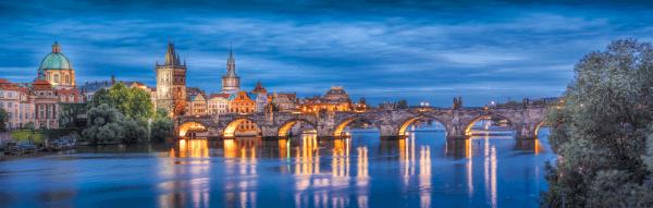 Prague at Night - Designer Splashback