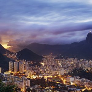 Rio at Night - Designer Splashback