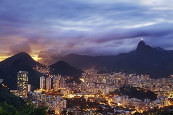 Rio at Night - Designer Splashback