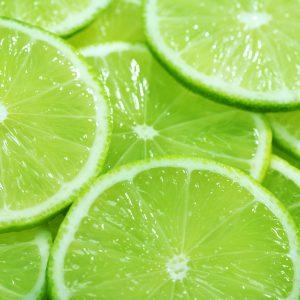 Sliced Limes - Designer Splashback
