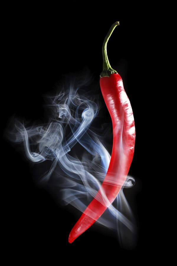 Red Chilli - Designer Splashback