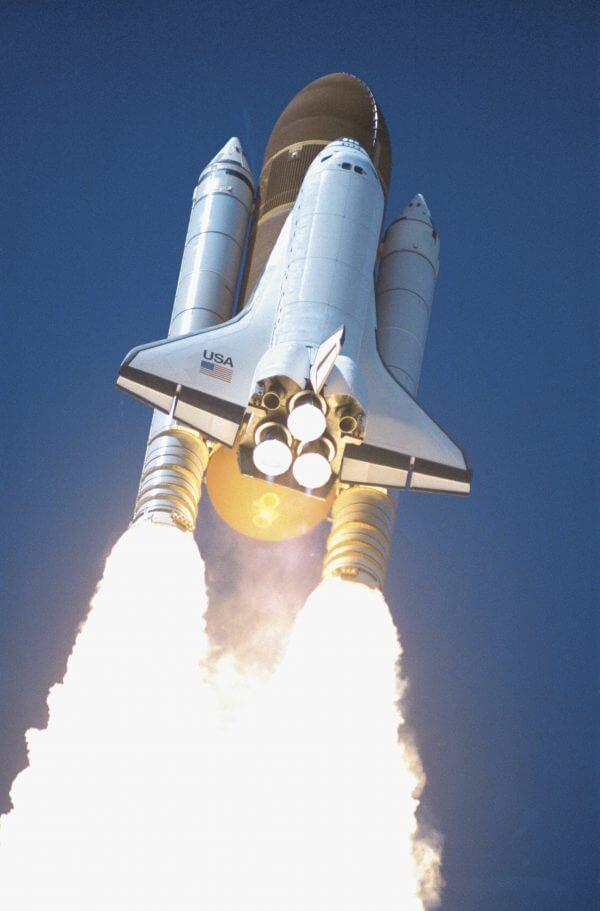 Space Shuttle – Designer Splashback