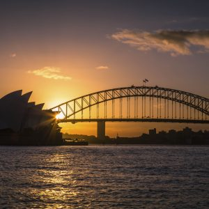 Sydney Harbour at Night – Designer Splashback