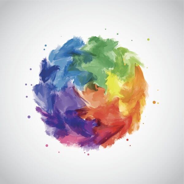 Water Colour - Designer Splashback