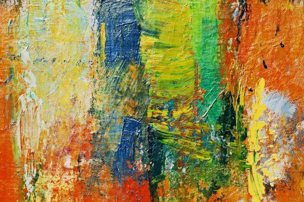 Abstract Painting - Designer Splashbacks