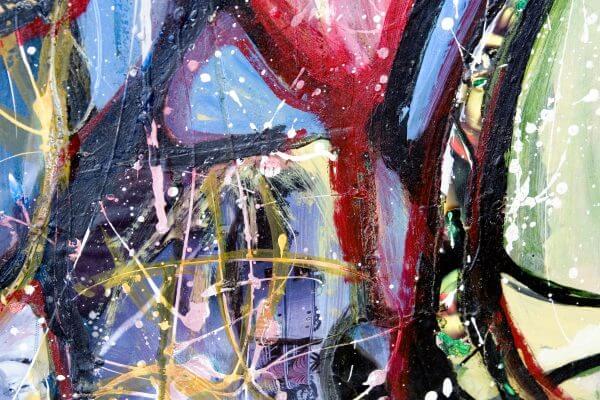 Abstract Painting 2 - Designer Splashbacks