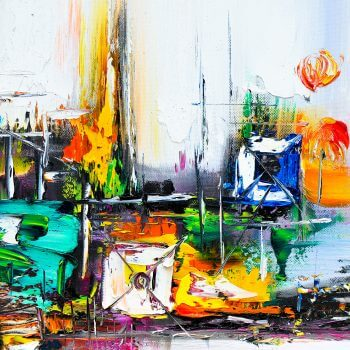 Abstract Painting 3 - Designer Splashbacks