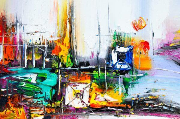 Abstract Painting 3 - Designer Splashbacks
