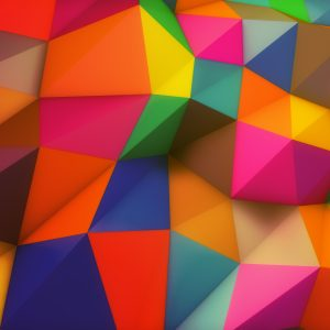 Colourful Background - Designer Splashbacks