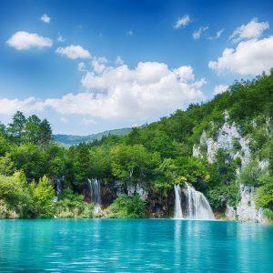 Croatia Lake - Designer Splashbacks