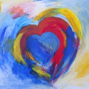 Heart Shaped Painting
