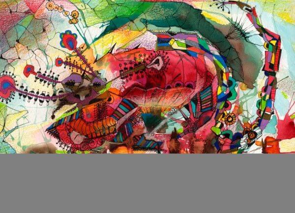 Musical Abstract - Designer Splashbacks