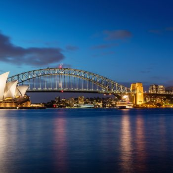 Sydney Opera House at Night - Designer Splashbacks
