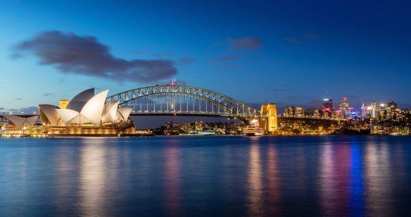 Sydney Opera House at Night - Designer Splashbacks