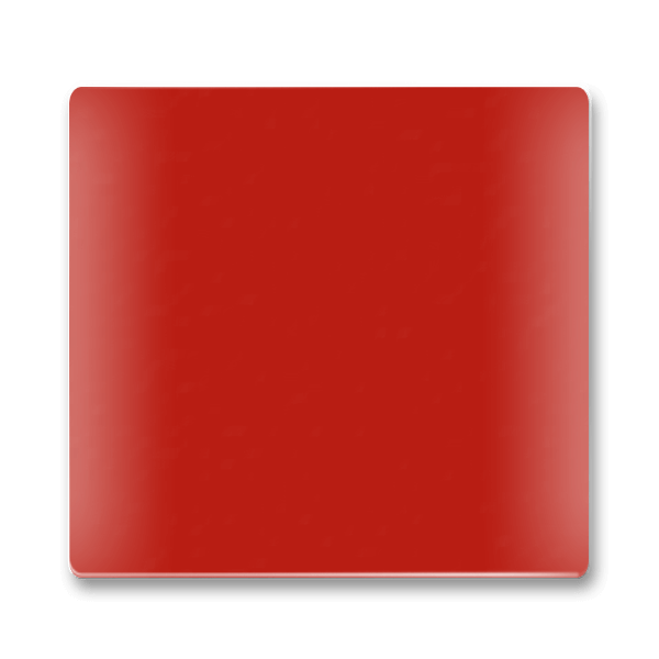 Traffic Red Kitchen Splashbacks