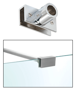 Glass to Wall Support Bar