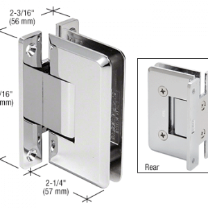 10 mm Cologne wall mount hinge