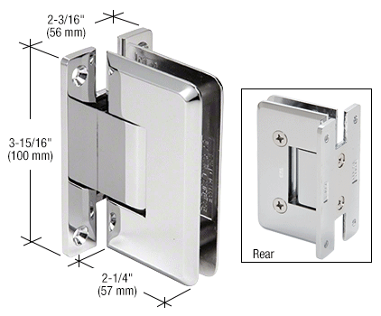10 mm Cologne wall mount hinge